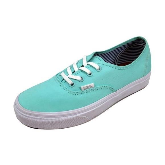 Vans Shoes | Authentic Sea Green Deck